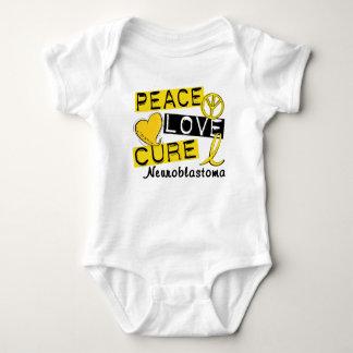 Peace Love Cure Neuroblastoma T-shirt