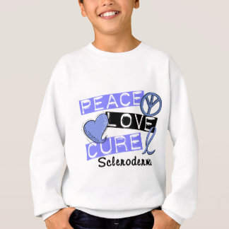 Peace Love Cure Scleroderma Sweatshirt