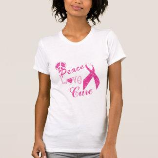 Peace Love Cure t-shirt