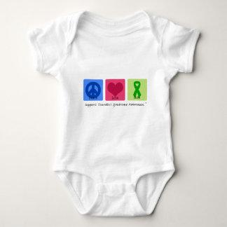 Peace Love Cure Tourettes Baby Bodysuit