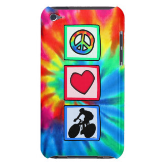 Peace, Love, Cycling Case-Mate iPod Touch Case