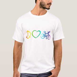 peace love & cycling T-Shirt