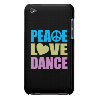 Peace Love Dance Barely There iPod Cover