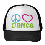 Peace Love Dance Cap