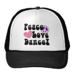 Peace, Love, Dance Cap
