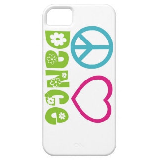 Peace Love Dance iPhone 5 Covers
