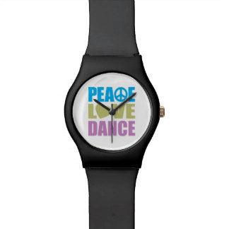 Peace Love Dance Watch