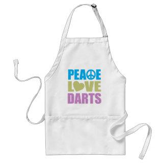 Peace Love Darts Standard Apron