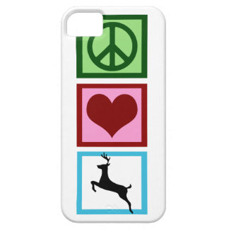 Peace Love Deer iPhone 5 Cover