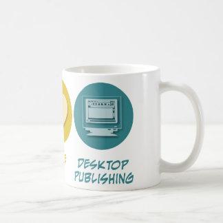 Peace Love Desktop Publishing Mugs