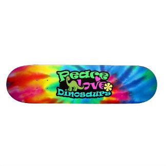 Peace, Love, Dinosaurs Skate Decks