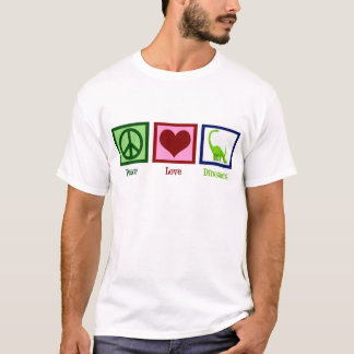 Peace Love Dinosaurs T-Shirt