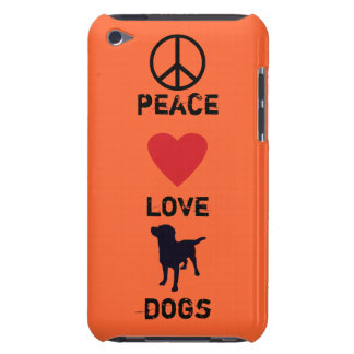 Peace Love Dogs Barely There iPod Case