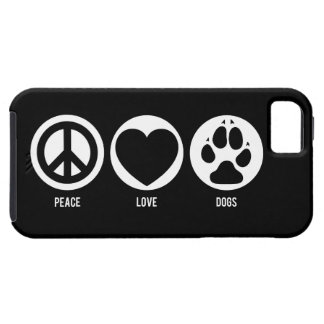 Peace Love Dogs Case For The iPhone 5