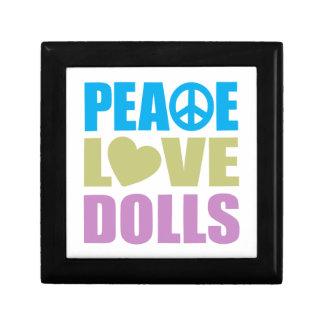 Peace Love Dolls Small Square Gift Box