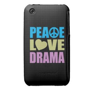 Peace Love Drama iPhone 3 Case-Mate Case