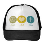 Peace Love Drill Hats
