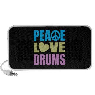Peace Love Drums Mini Speaker