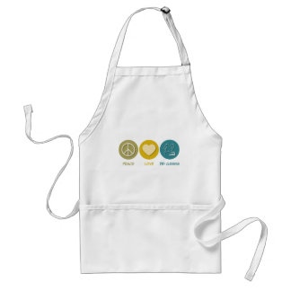 Peace Love Dry Cleaning Standard Apron