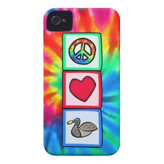 Peace Love Ducks iPhone 4 Cover