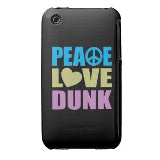 Peace Love Dunk iPhone 3 Case-Mate Case