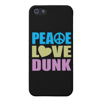 Peace Love Dunk Covers For iPhone 5