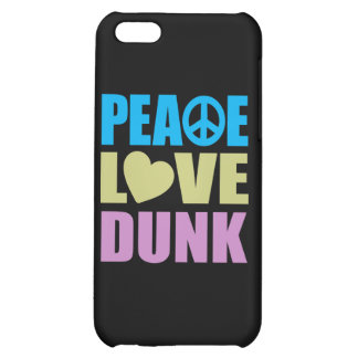 Peace Love Dunk iPhone 5C Covers