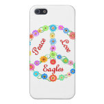 Peace Love Eagles Covers For iPhone 5