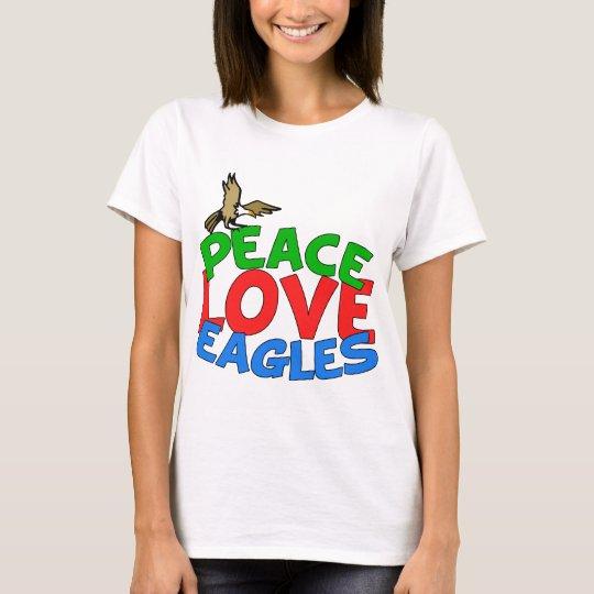 Peace Love Eagles T-Shirt
