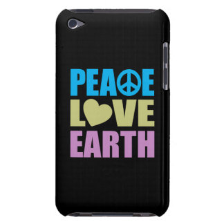 Peace Love Earth Barely There iPod Case
