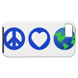 Peace Love Earth Case For The iPhone 5