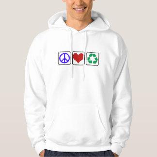 Peace Love Earth Day Sweatshirt