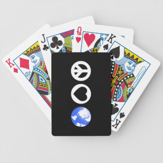 Peace Love Earth Deck Of Cards
