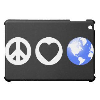 Peace Love Earth Case For The iPad Mini