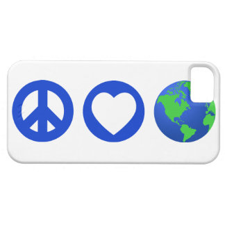 Peace Love Earth iPhone 5 Case