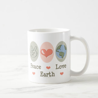 Peace Love Earth Mug