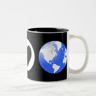 Peace Love Earth Mugs