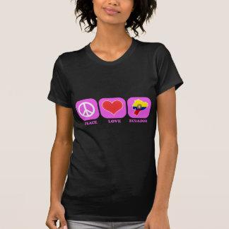 Peace Love Ecuador T-Shirt