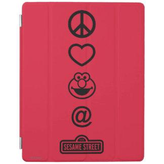 Peace Love Elmo iPad Cover