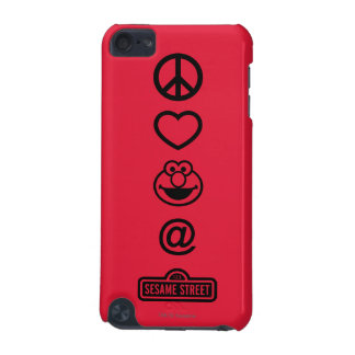 Peace Love Elmo iPod Touch (5th Generation) Cases