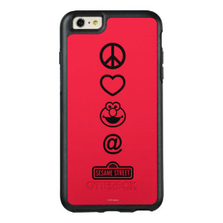 Peace Love Elmo OtterBox iPhone 6/6s Plus Case