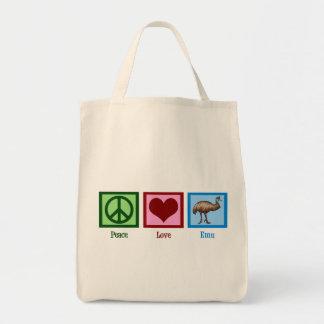 Peace Love Emu