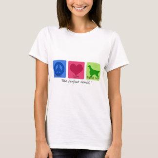 Peace Love English Setter T-Shirt