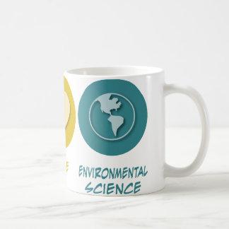 Peace Love Environmental Science Coffee Mug