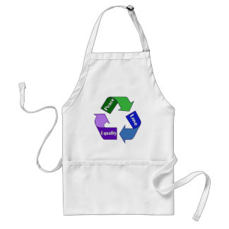 Peace Love Equality Standard Apron