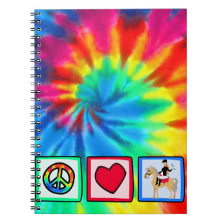 Peace, Love, Equestrian Notebooks