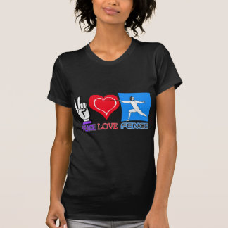 PEACE LOVE FENCE T-Shirt