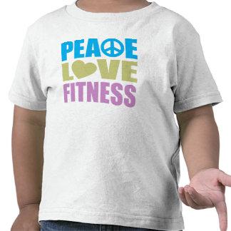 Peace Love Fitness Tees