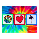 Peace, Love, Flamingos