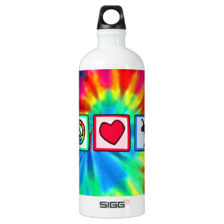 Peace, Love, Flamingos SIGG Traveller 1.0L Water Bottle